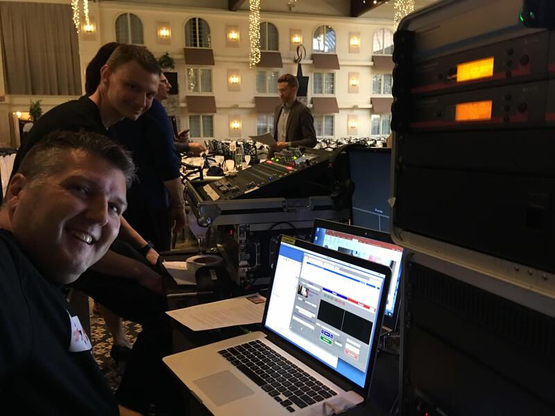 Final Focus Porductions offers a sesoned event team specializing in audio, video, and tech management